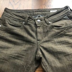 NWOT Replay Blondy Jeans straight leg size 28